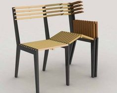 Awesome Ideas of Cool Chair : Unique Wooden Cool Chair Modern Folding Furniture Ideas