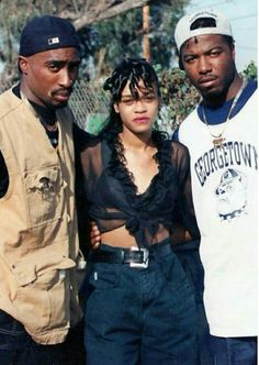 Tupac Shakur and Spice 1
