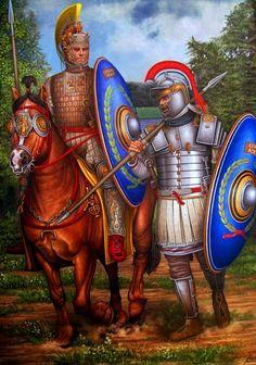 Roman Palatini troops