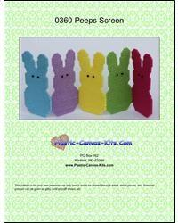 Easter Peeps Folding Screen