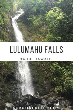 Lulumahu Falls is by far one of the most beautiful hikes I have ever done, and I believe it is a true hidden gem of Oahu! | @acrookedlife |