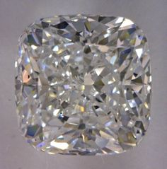 1.85-Carat Cushion Modified Brilliant Cut Diamond    This Fancy-cut E-color, and VS2-clarity diamond comes accompanied by a diamond grading report from GIA   $16444.47