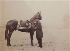 Ulysses Grant and his horse, Cincinnati; Horse Country Chic: Presidential Horses