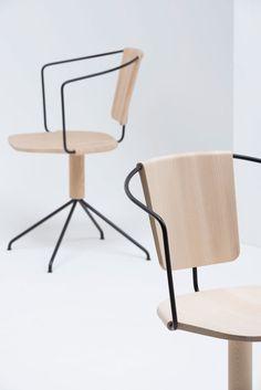 Chaise de bureau design Uncino par Bouroullec pour Mattiazzi 3