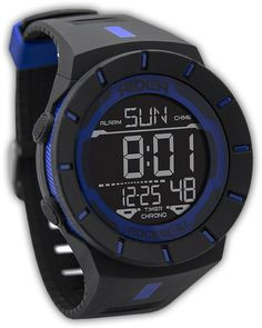 Rider by Rockwell Coliseum Watch - Law Enforcement Edition - Thin Blue Line - True Hero Gear