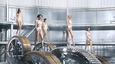 Jean-Paul Gaultier   Welcome to the Factory CREDITS  Client: Puig Agency: Mlle Noi  Production Co.: Stink Paris Ex. Producer: Greg Panteix Producer: Benoit Roques  Direction: Dvein (in collaboration with Photographer Miles Aldridge) Cinematographer: Daniel Landin Set Designer: Jean Michel Bertin 1st AD: Daniel Dittmann  Post-production: Mikros Image Additional art direction: Dvein, Alba Ribera, Maxim Goudin Editing: Walter Mauriot  Concept Art & additional stroyboard: Use...