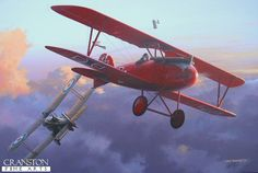 Oberleutnant Lothar Freiherr von Richthofen by Ivan Berryman. On the evening of 7th May 1917, a fierce battle took place involving aircraft of Jasta 11 and 56 Sqn RFC, the former led by the brother of the Red Baron, Lothar von Richthofen. As the sun dipped beneath the heavy clouds, most expected the dogfight to break off in the fading light, but an extraordinary duel between the RFCs Captain Albert Ball and Lothar von Richthofen broke out, the two aircraft flying directly at each other…