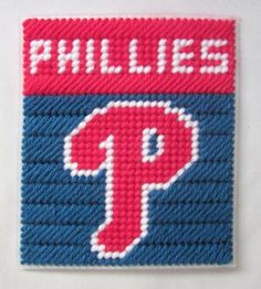 Philadelphia Phillies tissue box cover in plastic canvas PATTERN ONLY by AuntCC, $2.50 USD Plastic Canvas Tissue Boxes, Plastic Canvas Crafts, Plastic Canvas Patterns, Box Patterns, Needlepoint Patterns, Christmas Items, Christmas Tree, Tissue Box Covers, Sewing Techniques