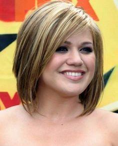 Cortes de pelo para cara redonda: Fotos de los cortes de pelo