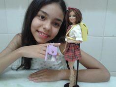 Como fazer mochila para Barbie
