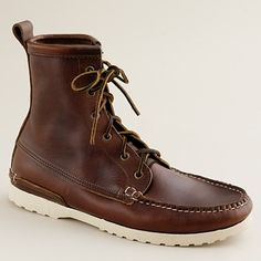 Men's Quoddy® for J.Crew lug-sole camp boots