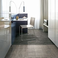 The World Woven™ Collection from Interface brings a distinctive, handcrafted feel to a broad array of interior design projects. Waiting Area, Contemporary, Modern, Design Projects, Corner Desk, Minimalist, Lounge, Flooring, Interior Design