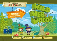 """Teach children basic Internet safety rules by playing """"Through the Wild Web Woods"""" with them."""