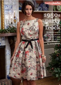 The Vintage Pattern Files: 1950's Sewing - Party Dress (Going to attempt to make this hopefully)