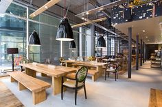 open plan restaurant kitchens - Google Search