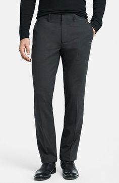 Theory 'Marlo' Slim Fit Pants available at #Nordstrom