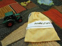 Farm Play Mat ~This is just lovely!  Be sure to look at all of the detail photos of the hand stitched play mat.