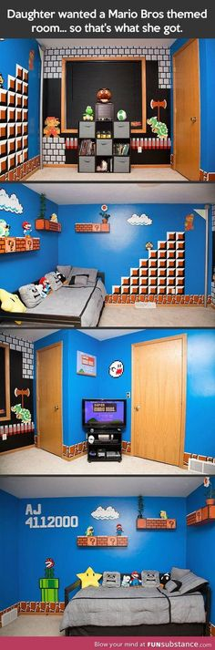 awesome room.....is it weird that i would still love to have this? ha