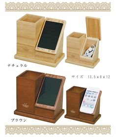 Diy Wooden Projects, Small Wood Projects, Woodworking Projects For Kids, Wooden Diy, Wood Crafts, Wooden Pens, Pallet Projects, Diy Phone Stand, Wood Phone Stand