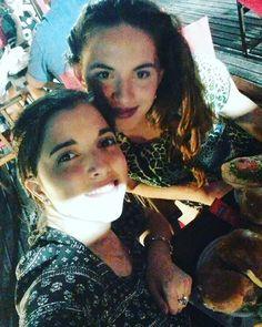 Aca cenando con #novia #amor :-) #provecho #caiste :-) #looooooveit