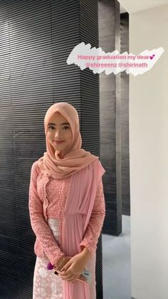 Graduation should be celebrated as the day of success, a long and challenging process. Kebaya Modern Hijab, Dress Brokat Modern, Model Kebaya Modern, Kebaya Hijab, Batik Kebaya, Kebaya Dress, Kebaya Muslim, Batik Dress, Prom Night Dress