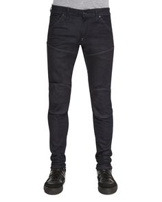 5620 3D Super Slim Stretch Moto Jeans, Size: 31, Blue - G-Star