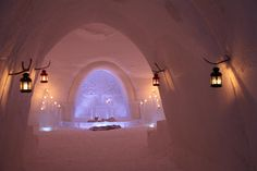 Wedding Chapel in the Levi Ice Gallery Hotel