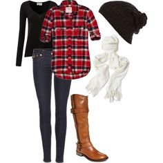 Winter outfit :) casual and relaxed