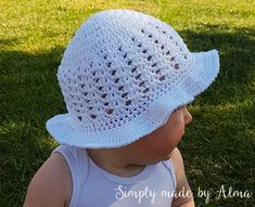 Purple Home, Summer Hats, Sun Hats, Crochet Baby, Projects To Try, Blog, Crochet Baby Clothes, Hat Crochet, Horse