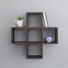 Nice Shelves find this pin and more on shelves under cabinet A Nice Cubed Wall Shelf Cooliyocom