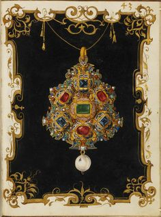 Jewel Book of the Duchess Anna of Bavaria — Date Created Around 1552 CE - 1555 CE