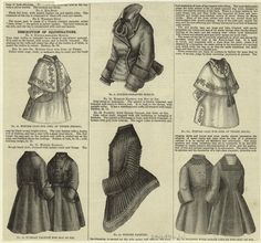 WINTER COAT FOR..GIRL OF THREE,1875:  One of over 800,000 free digital items from The New York Public Library.