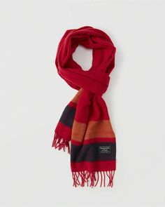Abercrombie & Fitch Wool-Blend Scarf