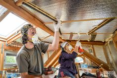 A few fun facts you should know before embarking on your rigid insulation adventure: 1). It's a sticky, disgusting, toxic mess that never ends. 2). I can't even donate my clothes to Goodwill after using spray foam. They're destroyed. 3). There's always another gap or crack that needs foam. Have I mentioned it never ends? …