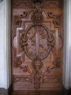 Ornate Doors - WOW, just look at that detail, it's astounding!