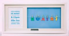 Personalised Frame A Name-Large (boy)
