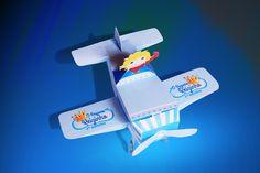 Embalagem avião para doces-Petit Prince