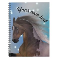 Personal journal notebook horse - horse animal horses riding freedom