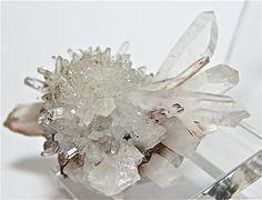 Quartz Crystal Cluster Starburst Mineral Specimen