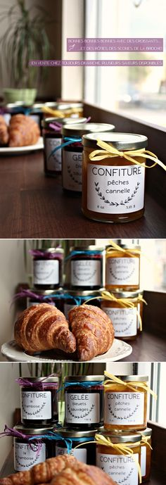 our homemade jams