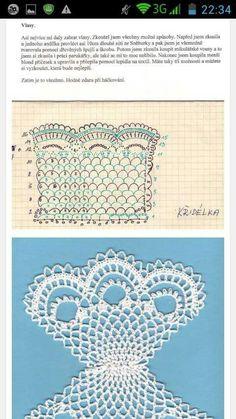 Best 12 Crochet Stitch pattern – Amigurumi Lilo and Stitch crochet pattern – Disney crochet pattern- Crocheted Stuffed Toys for baby – SkillOfKing. Crochet Angel Pattern, Crochet Angels, Crochet Stitches Patterns, Crochet Patterns Amigurumi, Crochet Dolls, Stitch Patterns, Crochet Christmas Decorations, Christmas Crochet Patterns, Crochet Diy