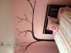 "My daughter's ""big girl"" room! A lot of work but so worth it!!"