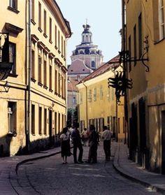 Vilnius - Lithuania.  Quaint and charming town.