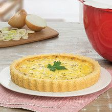 Tupperware - Quiche de Alho Poró