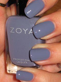 Isn't this color gorgeous?  It's Zoya- Caitlin