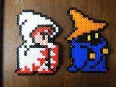 Final Fantasy Perlers by LadyRaveicorn - Kandi Photos on Kandi Patterns