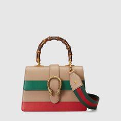 4038da6af84 Dionysus leather top handle bag - Gucci Monogramming 448075CWLMT2685 Beige  Shoulder Bags