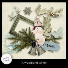 A woodland winter by butterflyDsign #marchminimadness
