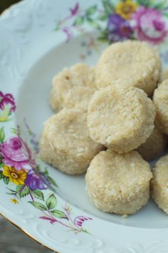 SCD Coconut Macaroons (*Substitute additional honey for maple syrup...)