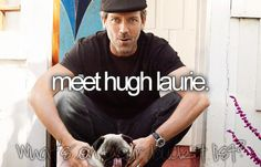 Meet Hugh Laurie